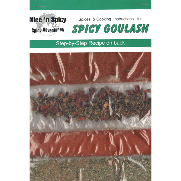 Spicy Goulash Recipe and Spices